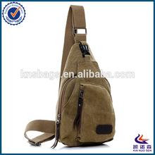 Hot sell Men canvas sport shoulder bag