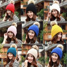 Winter Warm Women Crochet Knitting Wool Hats