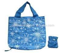 flower print foldable reusable shopping bags