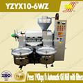 de aceite del tornillo equipado extractores de aire con filtro de presión
