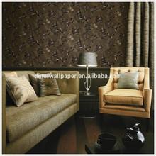Popular modern design interior decoration Korean wallpaper