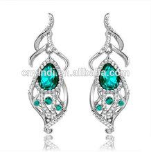 Retro Alloy New Design Dangle Crystal Earrings