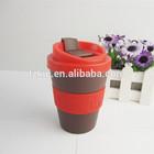 8oz screw lid travel mug with Spill Proof Lid