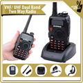 Nueva versión 5 W negro U / V de doble banda baofeng a52 móvil de RADIO