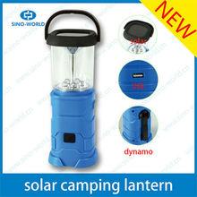 LED Camping lantern Hand Crank charging USB Adapter portable rechargeable portable lantern camping lamp solar