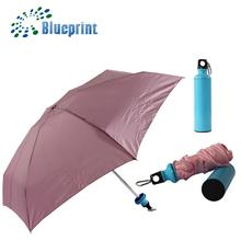 promotional folding umbrella in a bottle
