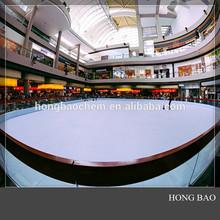 synthetic ice skating/ hockey training pad/ poly sheeting