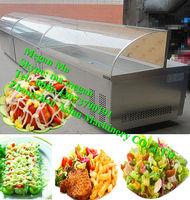commercial salad bar refrigerator/ refrigerated salad bar