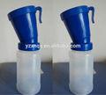 alta qualidade 300 ml de medicamento de plástico e frasco de pó em azul