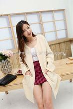 Alta qualità delle donne di modo maglione cappotto, maglia maglione cappotto lungo