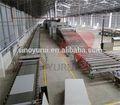 Leve gesso placa linha de produção com preço industrial