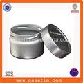 Kleinen metalldose, runde metalldose, schraubverschluss metalldose