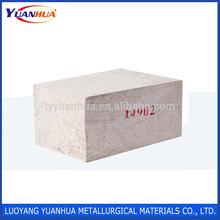 Non Carbon Environmental Steel Refractory Ladle Lining Brick