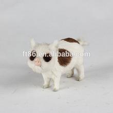 Custom soft material type peppa pig plush toy
