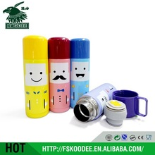 2014 lovely cute thermal bottle child , stainless steel thermal water bottle for cold