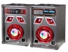 6 inch vibration stage speaker r with usb fm receive subwoofer speaker