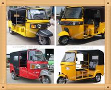 2015 China Newest Design Bajaj Auto Rickshaw Price / Cng 4 Stroke Rickshaw/ Tuk Tuk Bajaj India For Sale