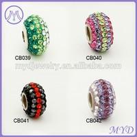 Disco ball shamballa bead for DIY bracelet
