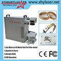 Xhy-f20 20w fibra marcador do laser projetado especialmente para a indústria de jóias