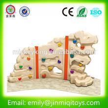 JMQ-J131B Plastic kids rock climbing wall / Kids outdoor climbing wall / backyard rock climbing wall