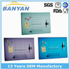 Hot sale colorful stainless steel memo board with hook,digital memo board