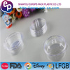 small plastic box for food clear ps material round plastic container with lid