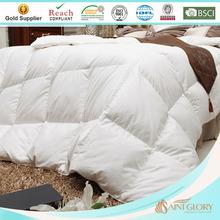luxury hotel white polyester microfiber comforter / quilt / duvet insert