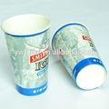 En forma de cono tazas, frío jugo de vasos de papel al por mayor, de calidad alimentaria de papel taza