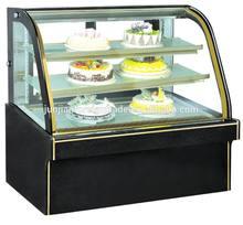 en kaliteli pasta teşhir dolabının kek ekran kabine vitrin dondurucu ekmek vitrin mağazalar için ce guangzhou