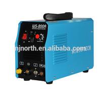 DC inverter TIG/MMA welder WS200A,tig welding price,portable welding machine for motor welding