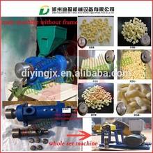 Export standard Small line corn puff machine/Kurkure corn puff making