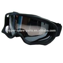 Dirt Bike ATV Off-Road Ski Snowboard Black Motocross Goggles