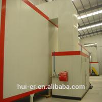 aluminum profile electrostatic powder paint production line