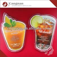 promotion acrylic photo insert magnet