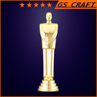 custom metal trophy figures metal / soccer trophy cup / wholesale cheap gold plated trophy