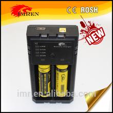 Superior IMREN H2 Universal 12V/2A battery charger 18650 lithium ion battery charger for 18650 38amp,26650 60A battery