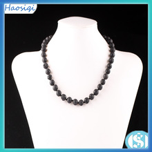 10mm Fashion European style Volcanic necklace