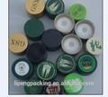 No- caída de insertos de plástico botella ropp tornillo de las tapas superior con vertedor de plástico para aceite de oliva, de bebidas, whisky, blendy