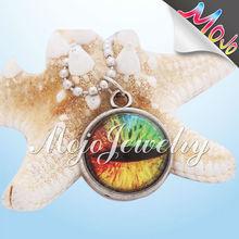 2014 Wholesale DIY E5mm Hole Colorful Gemstone Bead Evil Eye Beads Wholesale