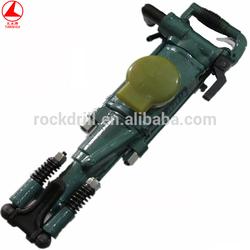 hot sales low noise air leg rock drill YT28/jack hammer/mineria perforadora de roca/mining rock hand tools