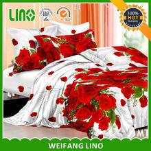 3d printed 100% polyester filling comforter/comforter/3 pcs comforter with digital printing