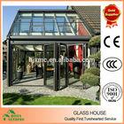 Aluminum and glass Sunshine glass house customized glass house