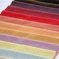 705 rainbow coloré design 100% polyester super doux velours tissu de sofa