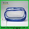 Promotional transparent pvc cosmetic bag
