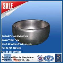 High quality titanium end cap from baoji liuwei