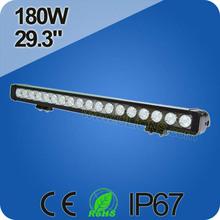 Single Row led light bar 180W off road led light bar for car led driving light bars
