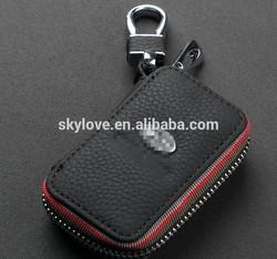 Wholesale high quanltiy genuine leather key case holder bag key case