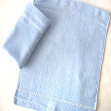 Power Blue Organic Bamboo Fabric Towel 26x28cm