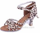 Economic Dance Shoes Wholesale Online/High QualityLeopard High Heels Latin Dance Shoes for Ladies/Women/Girls