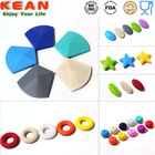 2014 Hot Sale Rubber Beads Food Grade Silicone Teething Beads Bulk